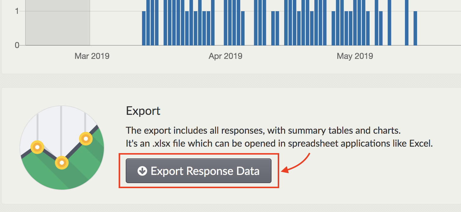 Screenshot showing the export button on the dashboard.png